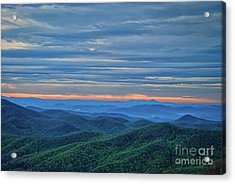 Sunrise On The Parkway Acrylic Print