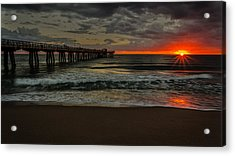 Sunrise On The Water Acrylic Print