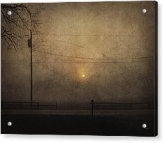 Sunrise On Wilmington Pike Acrylic Print by Cynthia Lassiter