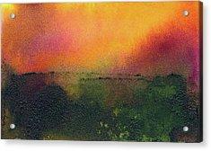Sunrise Over A Marsh Acrylic Print