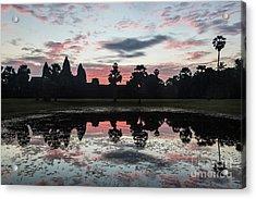 Sunrise Over Angkor Wat Acrylic Print