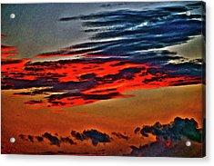Sunrise Over Daytona Beach Acrylic Print