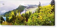 Sunrise Over Echo Lake Acrylic Print