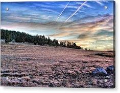 Sunrise Over Ft. Apache Acrylic Print
