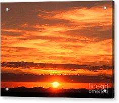 Sunrise Over Jeddah Acrylic Print by Graham Taylor