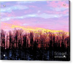 Sunrise Over Lake Acrylic Print