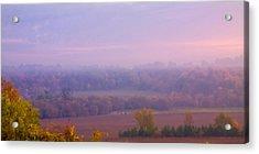 Sunrise Over Mid Valley 2 Acrylic Print