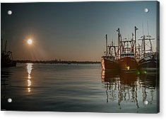 Sunrise Over New Bedford, Acrylic Print