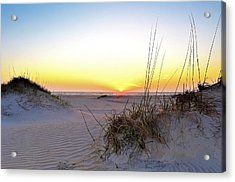 Sunrise Over Pea Island Acrylic Print