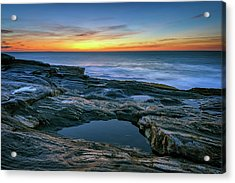Sunrise Over Pemaquid Point Acrylic Print