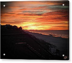 Sunrise Over Santa Rosa Beach Acrylic Print