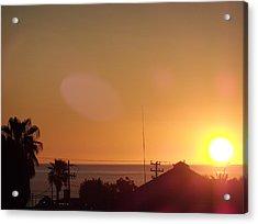 Sunrise Over Sea Of Cortez Acrylic Print by Staci Black