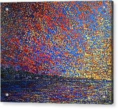 Sunrise Over St Andrews Nb Acrylic Print