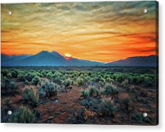 Sunrise Over Taos II Acrylic Print