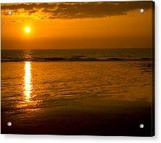 Sunrise Over The Ocean Acrylic Print by Svetlana Sewell