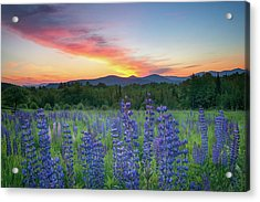 Sunrise Over The Ridge Acrylic Print