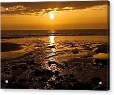 Sunrise Over The Sea Acrylic Print by Svetlana Sewell