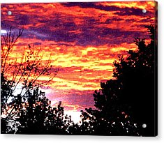 Sunrise Over The S.p. Acrylic Print by Nathaniel Hoffman