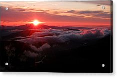 Sunrise Over Wyvis Acrylic Print