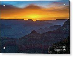 Sunrise Over Yavapai Acrylic Print by Jamie Pham