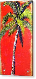 Sunrise Palm Acrylic Print
