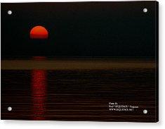 Sunrise Acrylic Print by Paul SEQUENCE Ferguson             sequence dot net