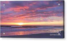 Sunrise Pinks Acrylic Print