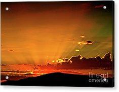 Sunrise Prescott Arizona Acrylic Print by Gus McCrea