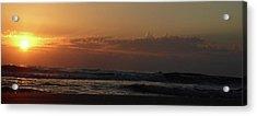 Sunrise Acrylic Print by Rayne Van Sing
