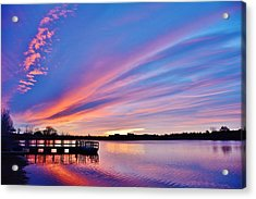 Sunrise Reflecting Acrylic Print