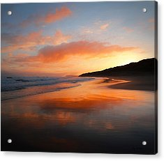 Acrylic Print featuring the photograph Sunrise Reflection by Roy McPeak