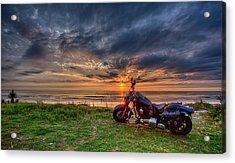 Sunrise Ride Acrylic Print