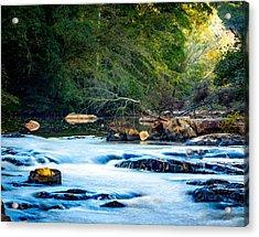 Sunrise River Acrylic Print