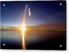 Sunrise Rocket Acrylic Print