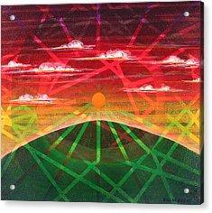 Sunrise Acrylic Print by Rollin Kocsis