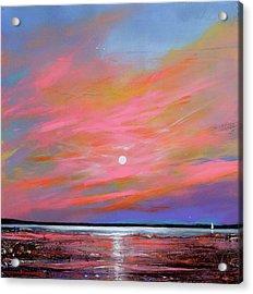 Sunrise Sail Acrylic Print by Toni Grote