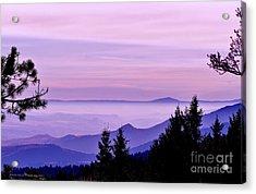 Sunrise Silhouettes Acrylic Print