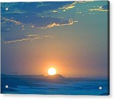 Acrylic Print featuring the photograph Sunrise Sky by  Newwwman