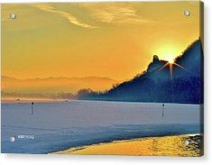Sunrise Sparkle Acrylic Print