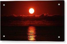 Sunrise Spotlight Delray Beach Florida Acrylic Print