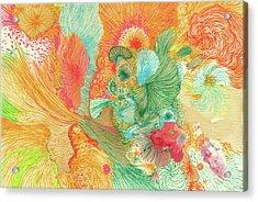 Sunrise - #ss18dw001 Acrylic Print by Satomi Sugimoto