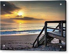 Sunrise Stairway Acrylic Print