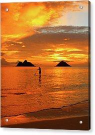 Sunrise Standup Acrylic Print