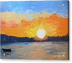 Sunrise Sensation Acrylic Print by Stella Sherman