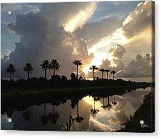 Sunrise Storm Acrylic Print