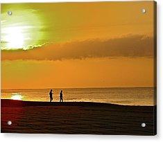 Sunrise Stroll Acrylic Print
