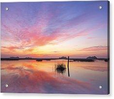 Sunrise Sunset Art Photo - I Belong Acrylic Print