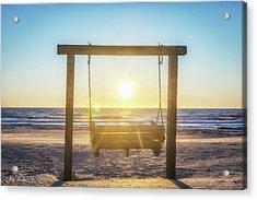 Sunrise Swings Acrylic Print