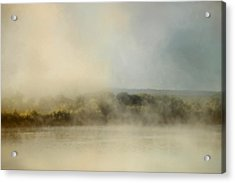Sunrise Through The Fog Acrylic Print