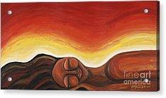 Sunrise Acrylic Print by Tiffany Yancey